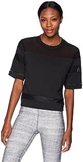 Alo Yoga Women's Mellow Short Sleeve Top Black S [並行輸入品]