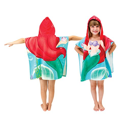Disney Little Mermaid Ariel Cotton Hooded Towel