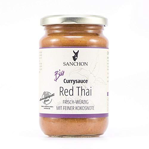 Sanchon Bio Red Thai Thailändische Currysauce (2 x 340 gr)