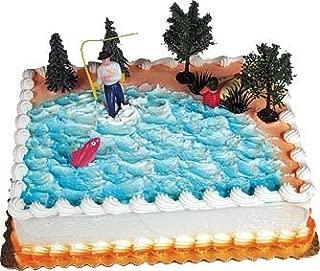 Cake Decorating Kit CupCake Decorating Kit Sports Toys (Fishing Cake Kit)