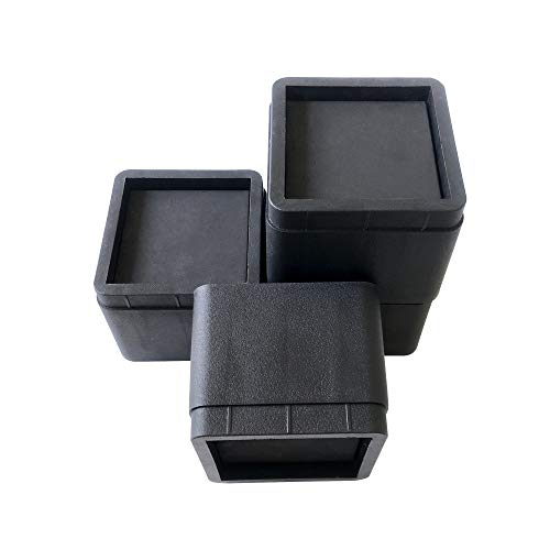 aspeike 4 Packs 3' Bed and Furniture Risers Durable and...