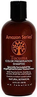 Amazon Series Tucuma Color Preservation Shampoo, 8.5 Fluid Ounce