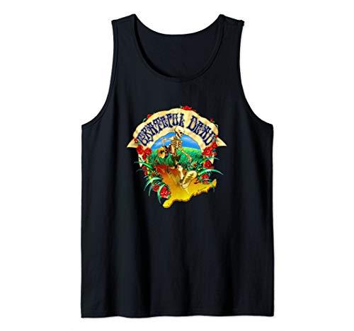 Dead Walking USA - Not Fade Away Grateful Tortuga Apparel Tank Top