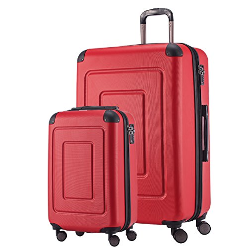 Happy Trolley Lugano Koffer, 76 cm, 113 Liter, Rot