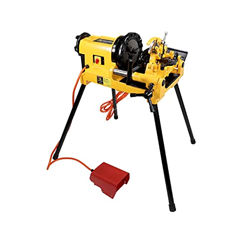 Steel Dragon Tools 300 Compact 2in. Pipe Threader Threading Machine and Self Opening 815A Die Head compatible with RIDGID 47770 47765 47745 47750 Dies Universal Pipe Bolt