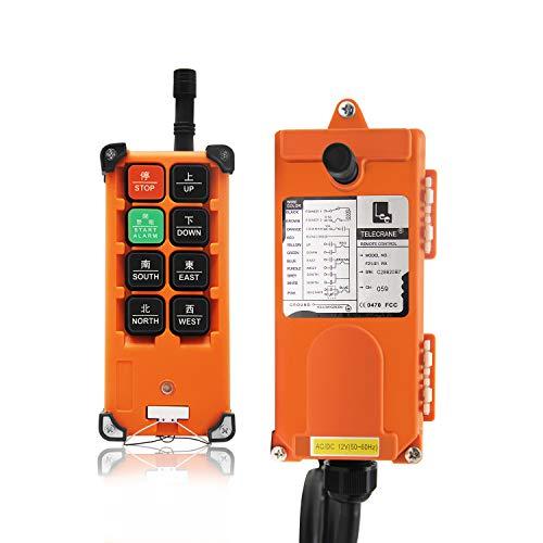 NEWTRY 12V Drahtlose Kranfernbedienung Hohe Qualität Industrielles elektrisches Hebezeug F21-E1B