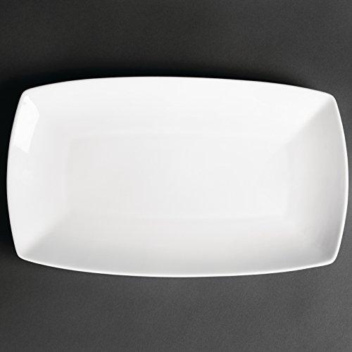 Plateau rectangulaire Kana - Dimensions: 320mm - Quantité : 12.