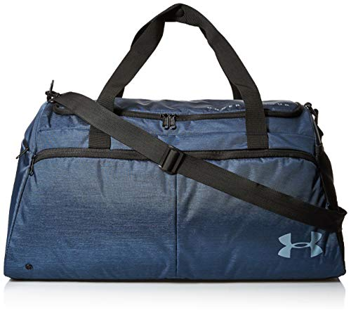 Under Armour Women's Undeniable Duffel Gym Bag, , Downpour Gray//Blue Heights, One Size Fits All