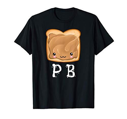 Kawaii PB&J Peanut Butter & Jelly Halloween Matching Tshirt T-Shirt