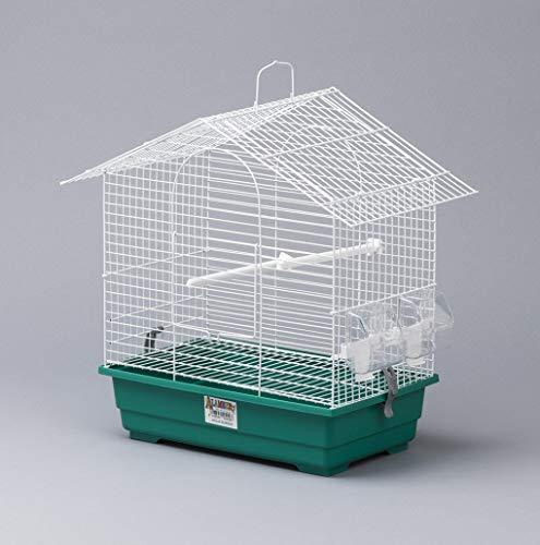 HappyzooMascotas Jaula Soho Desmontable Pájaros - Alamber - 45X26.5X43Cm