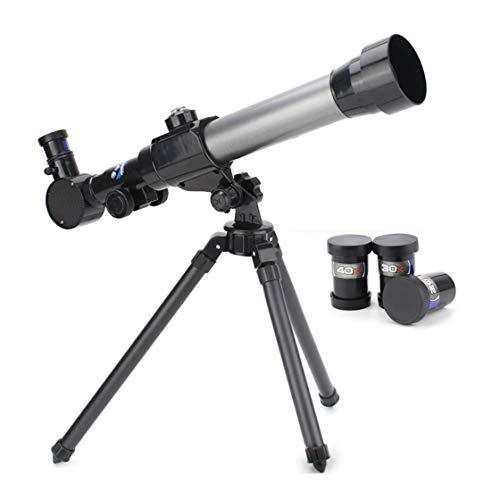 Telescopio astronómico refractivo con trípode Palanca Ajustable 40X