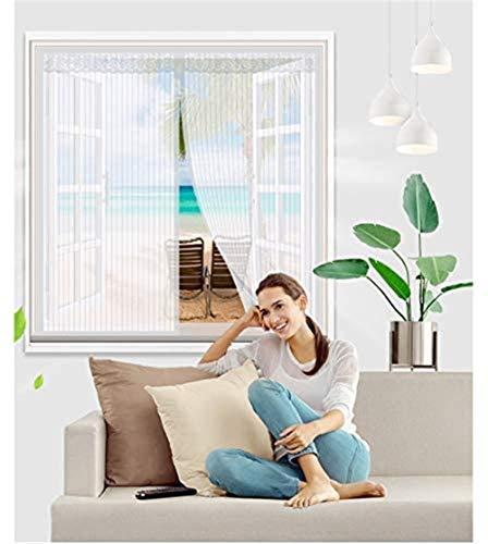 Huabei2 Moskitoschutz Insektennetze Fenster Shades Magnetische Fenster Fliegengitter, Selbstklebeband Mesh-Fenster Vorhänge Anti-Mosquito Mute irgendeine Größe for Schiebefenster Drehkippfenster