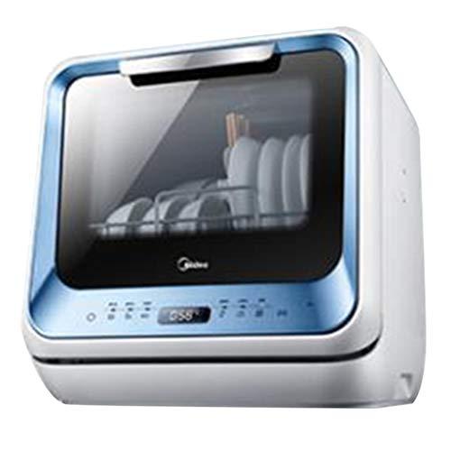 Elektro-Großgeräte Kostenlose Installation von intelligenten Geschirrspüler Home automatische Mini Kleine Desktop-Desinfektion Schrank Schrank (Color : Weiß, Size : 42 * 44 * 44cm/16 * 17 * 17inch)
