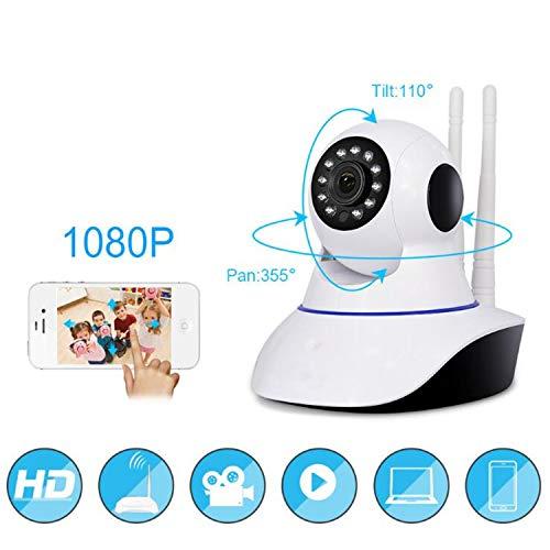 BABIFIS 1080P Wireless WiFi bewakingscamera, mobiele afstandsbediening, intelligente camera, netwerk HD, bewegingsdetectie camera met nachtzicht