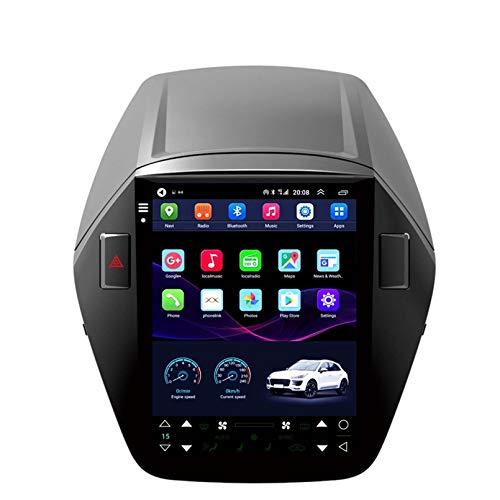 SDFLKH Vertikaler Bildschirm Im Tesla-Stil Android10 Auto-Stereo-GPS-Navigation Für Hyundai IX35 2010 2015 Multimedia Player 4G WiFi Keine DVD(Size:Acht-Kern,Color:WiFi 2+32G)