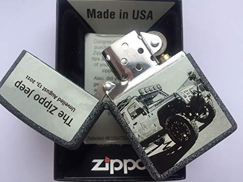 """Zippo - Accendino da collezione, edizione limitata 211 """"Planeta Jeep"""""""