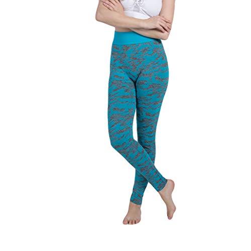 KUKICAT Damen Laufhose Sporthose Sport Leggings Tights Damen Camouflage Printed Fashion Pants Damen Sport Freizeithosen