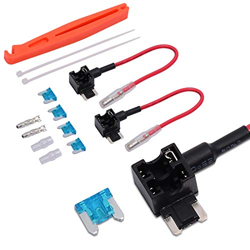 Ehdis 12V auto Voeg een schakeling toe aan zekeringkraan adapter varkentje zekeringkast kabelboom zekeringtrekker Low profiel.