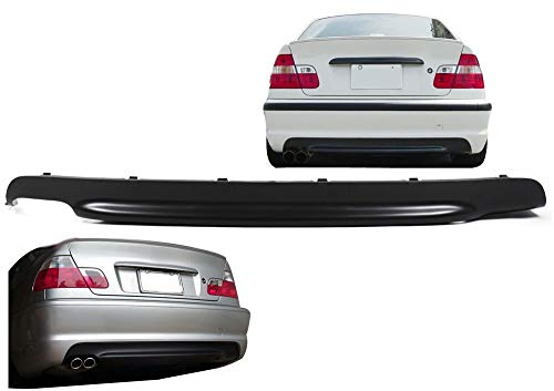 1023193 Heckdiffusor für 3er E46 passend für M Paket Coupe Cabrio Limousine Touring 98-07