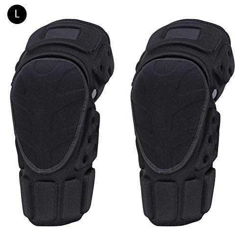 Lembeauty 1 pair Sports Kneepads Bicycle Motorcycles Motocross Mountain Bike MTB Extreme Sports Racing Cycling Kneepads Skiing Scooters Protective Gear Safeguard Armor Set