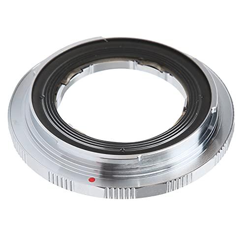 Mavis Laven Adaptador de Lente de cámara Adaptador de Lente Manual Adaptador Manual Profesional Anillo convertidor para Lente Leica LM a para Fujifilm GFX Adaptador de Lente de cámara