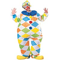 Rubie's Inflatable Clown Deluxe Adult Costume