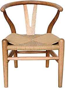 Lux Home Children's Danish Bentwood Y Chair, Natural Finish