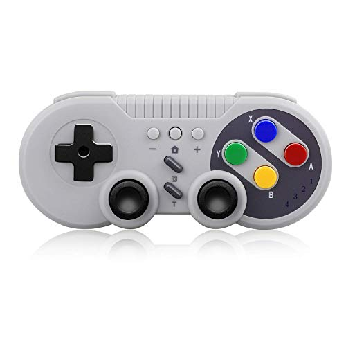 Sunjoyco Wireless Pro Game Controller, USB Classic Gamepad Compatible...