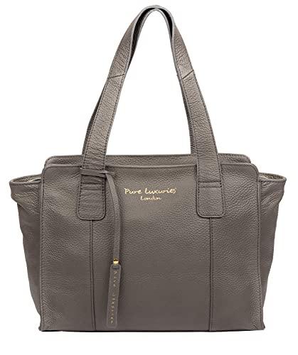 Pure Luxuries London Alexandra Women's 33cm Biodegradable Leather Handbag...