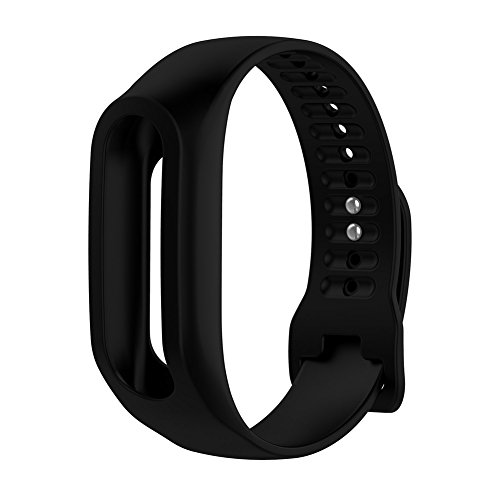 Gowind6 Siliconen Horlogeband Vervanging voor Tom Tom Touch Fitness Tracker Polsband