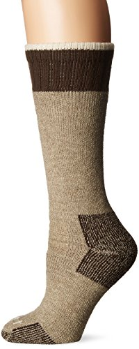 Carhartt Women's Extremes Cold Weather Boot Sock, 1 Pair, Khaki, Shoe Size: 4-9