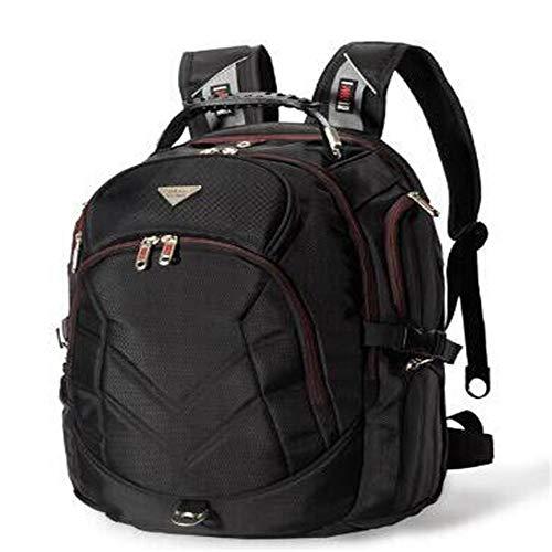 18,4 Pulgadas Laptop Backpack Cabe hasta 18 Pulgadas Gaming Laptops para,Black,18 Pulgadas