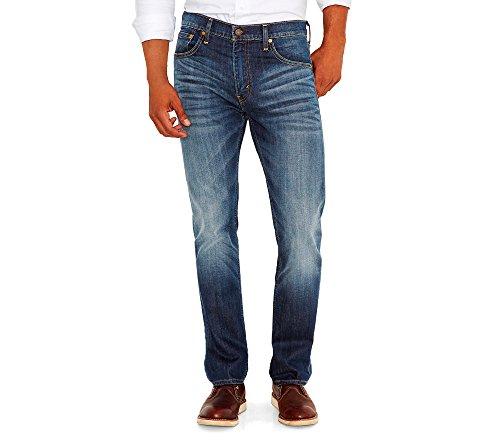Levi's Herren Jeans 527 Slim Bootcut Fit - Blau - 34W / 32L
