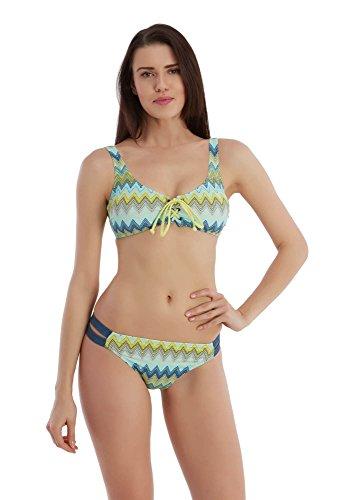 Sunset® Bikini Push up Dames Set Bikini Push up sexy gevoerd met cups zonder beugel lycra ondoorzichtig