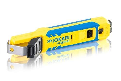 JOKARI®original Kabelmesser System 4-70 zum Abisolieren von Rundkabel (z.B.NYM/NYY) 8 bis 35mm Ø, Art.Nr. 70000