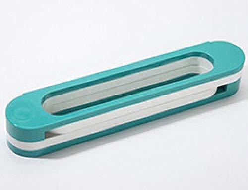 Zapateros Zapatos Estantería Uno de los cambios triple estante zapatilla de almacenamiento de colgar en la pared retráctil toallero tres en un baño de almacenamiento en rack Gris ( Color : Green )