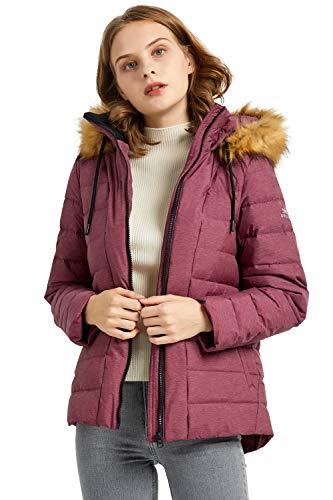Orolay Chaqueta de Plumíferos al Aire Libre para Mujer con Capucha Abrigo...