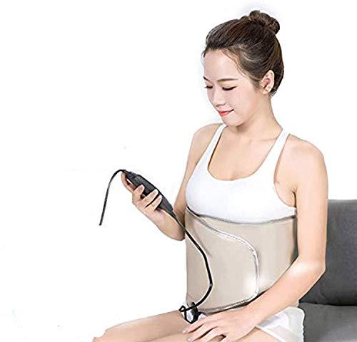 Gymqian Cinturón de Adelgazamiento Eléctrico, Vibración Adelgazante Función de Calor Masajeador Pérdida de Peso Rechazo de Grasa de Rechazo Múltiples modos