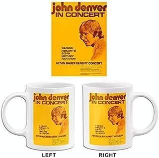 John Denver In Concert - 1971 - Northrop Auditorium - Concert Poster Mug