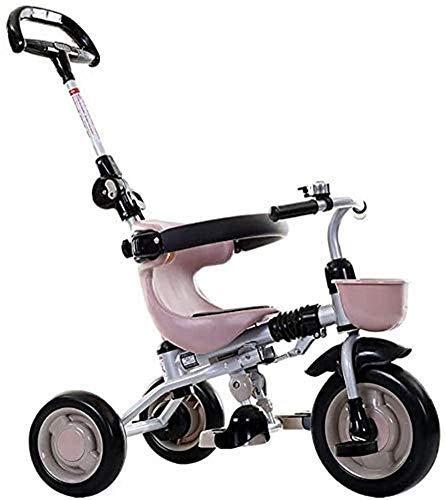 LIPENLI Bicicleta Triciclo, KidsLight Kid Cochecito portátil y la Seguridad del Coche de los niños con el Pedal del pie de Comodidad de los Asientos Sistema de Frenos adecuados for niños de 1/