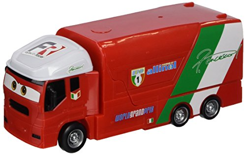 Cars - Y1322 - Véhicule Miniature - Transporteur All Stars - Francescos