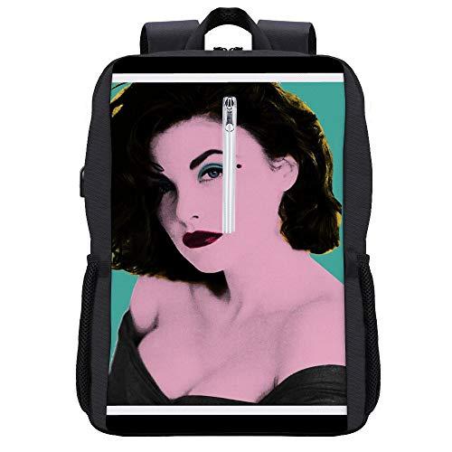 Twin Peaks Audrey Horne Pop Art - Mochila para ordenador portátil con...