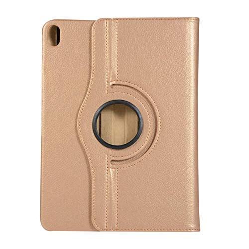 New for ipad pro 12.9 2018 case 360 Degree Rotating Leather Smart Cover Case for Apple iPad pro 12.9inch Tablet Stand+Stylus Pen,Tyrant Gold