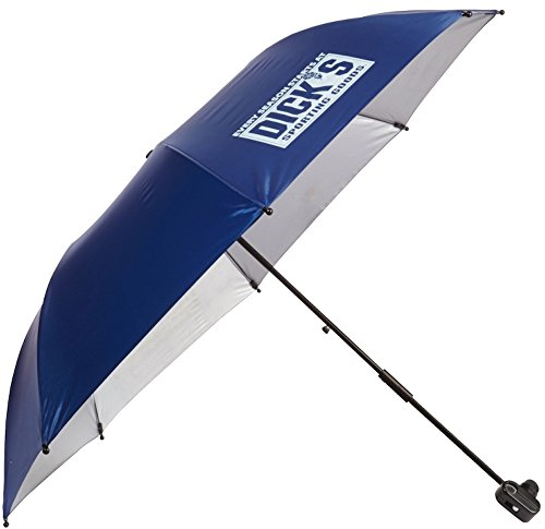 Mac Sports Dicks Sporting Goods Chairbrella Umbrella Shade for Folding Chairs (Blue) - Umbrella ONLY