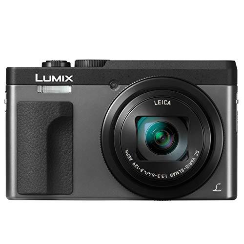 PANASONIC LUMIX DC-ZS70S, 20.3 Megapixel, 4K Digital Camera, Touch Enabled 3-inch 180 Degree Flip-front Display, 30X LEICA DC VARIO-ELMAR Lens, WiFi (Silver) (Renewed)