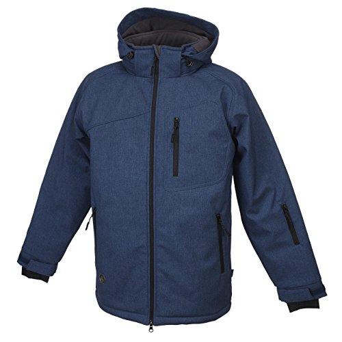 SD Best selection - Kilimandjaro NV ch - Softshell Vestes - Bleu Marine/Bleu Nuit - Taille L