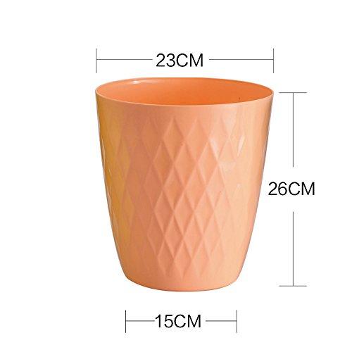 Trash Creative Toilette de salle de bain ( Couleur : Orange )