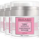 Divine Derriere Breast Enhancement Cream - Natural Breast Enlargement Cream for Bust & Butt - Clinically Proven for...