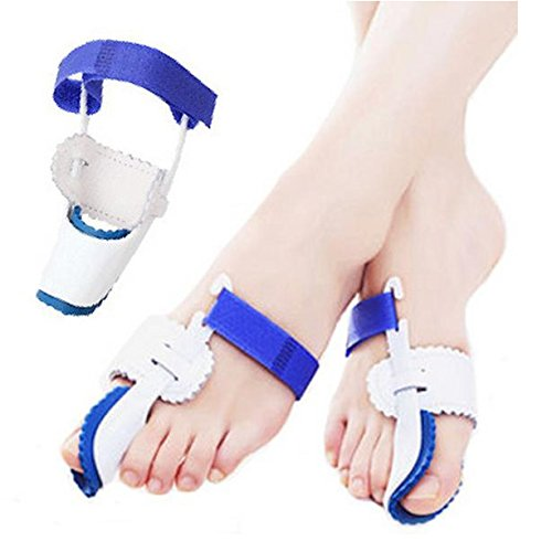 RESTORE NATURAL ALIGNMENT: By wearing the bunion protectors,the velcro strap allows you to regulate tension,gently repositions the big toe,pain relief soothe your sore feet, ease foot pain and prevent bunion surgery. EFFECTIVE BUNION PAIN RELIEF: Sep...