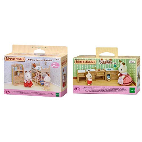 Sylvanian Families Children's Bedroom Furniture &  Families 5222 - Kücheneinrichtungsset